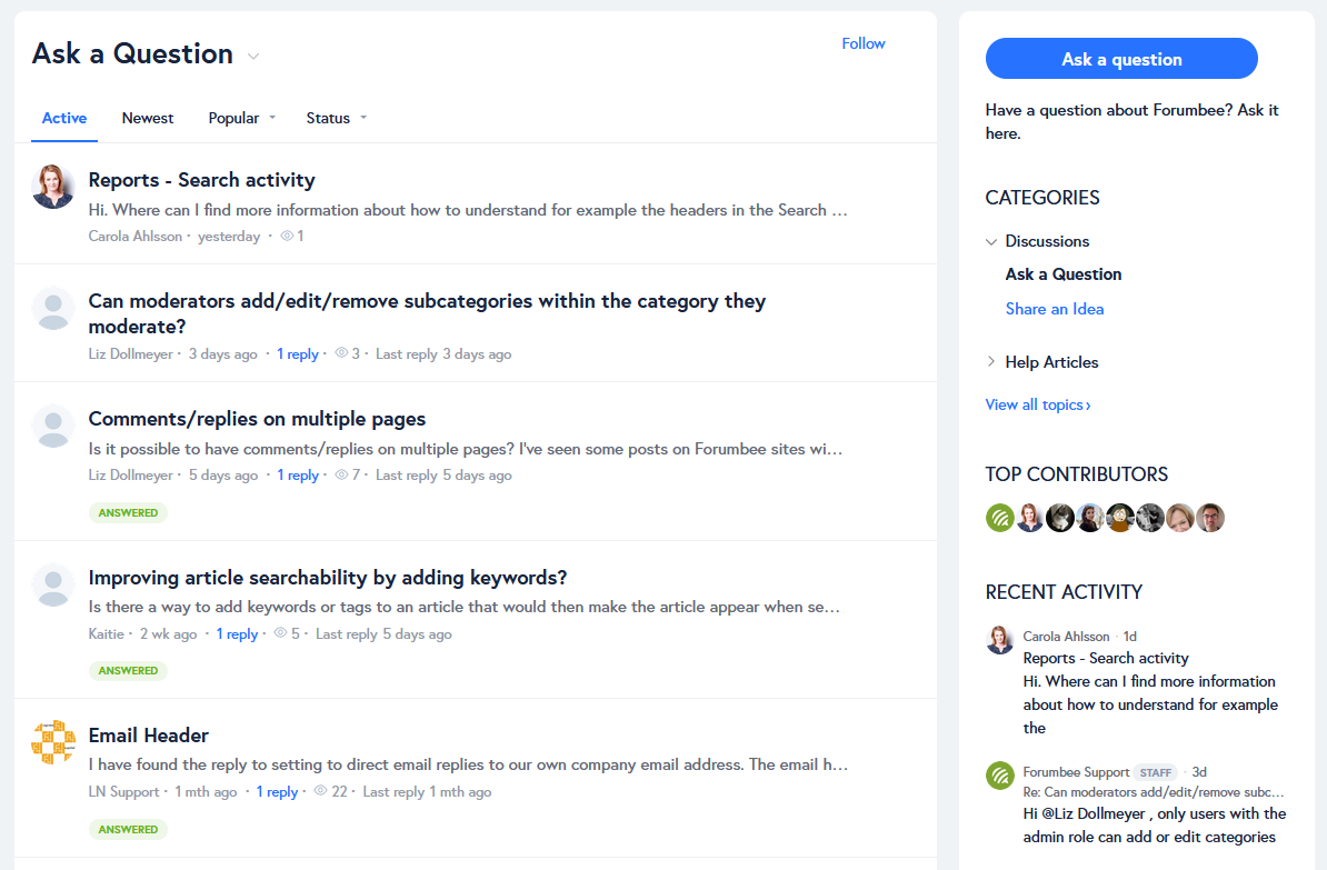 forumbee-community-platform